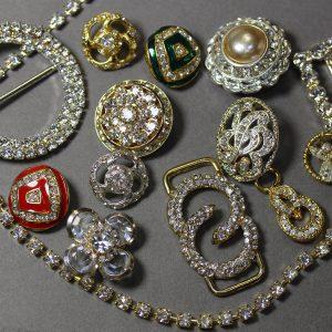 Rhinestone Buttons