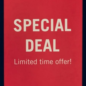 Specials and Closeout Items