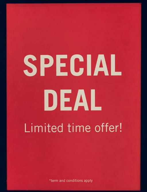 Special deal image