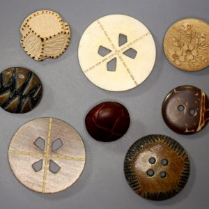 Natural Material Buttons