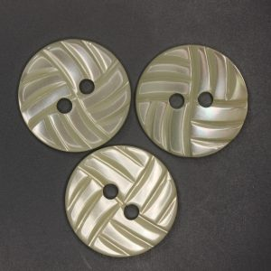 Three LWP1179 MOP buttons with wave design