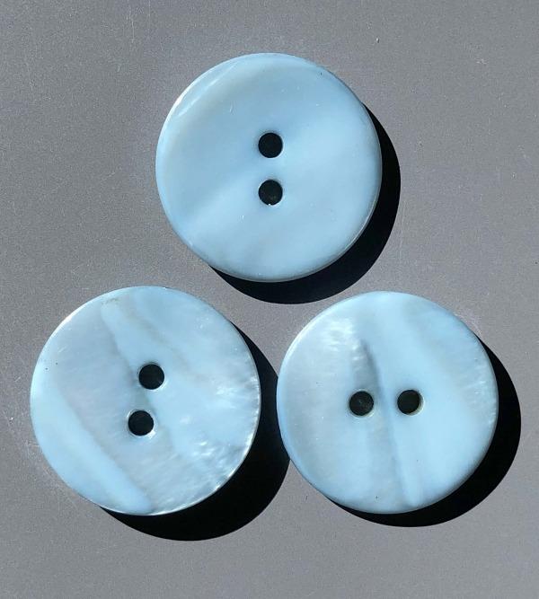 Blue shell buttons